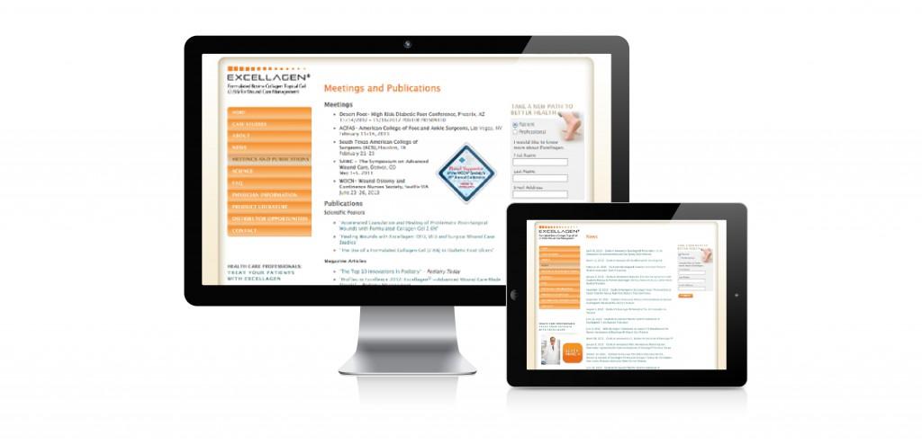 Excellagen – Web Design, Development and Branding by Comet Creative