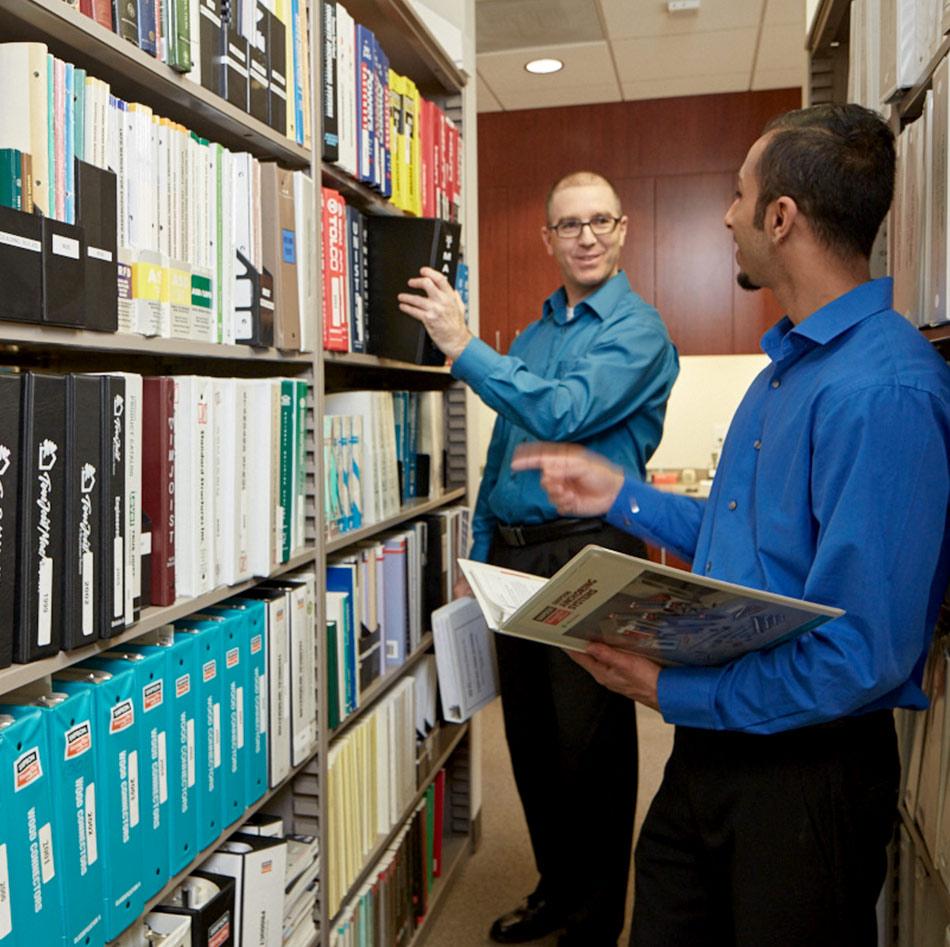 Photo KNA bookshelves archives