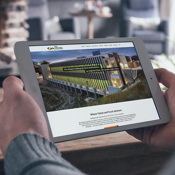 KNA Structural Engineers website screenshot