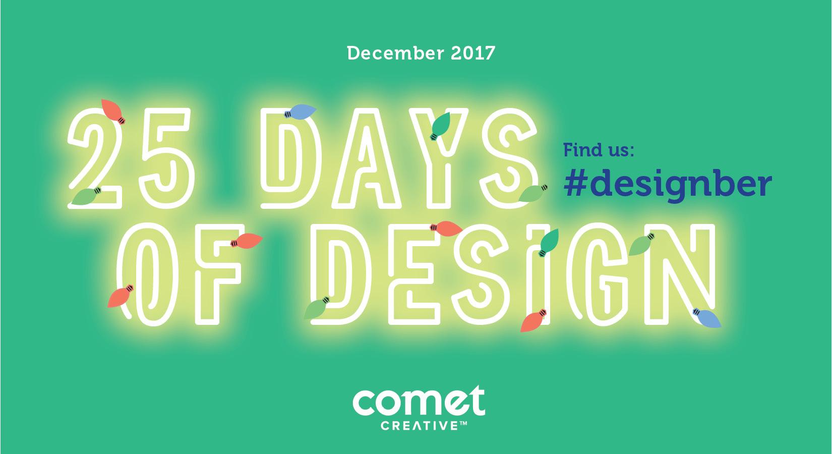 25 Days of #Designber