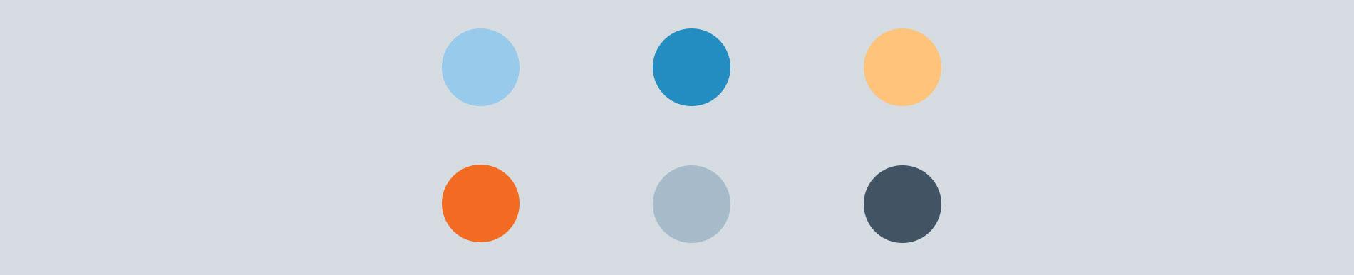 Qrons color palette